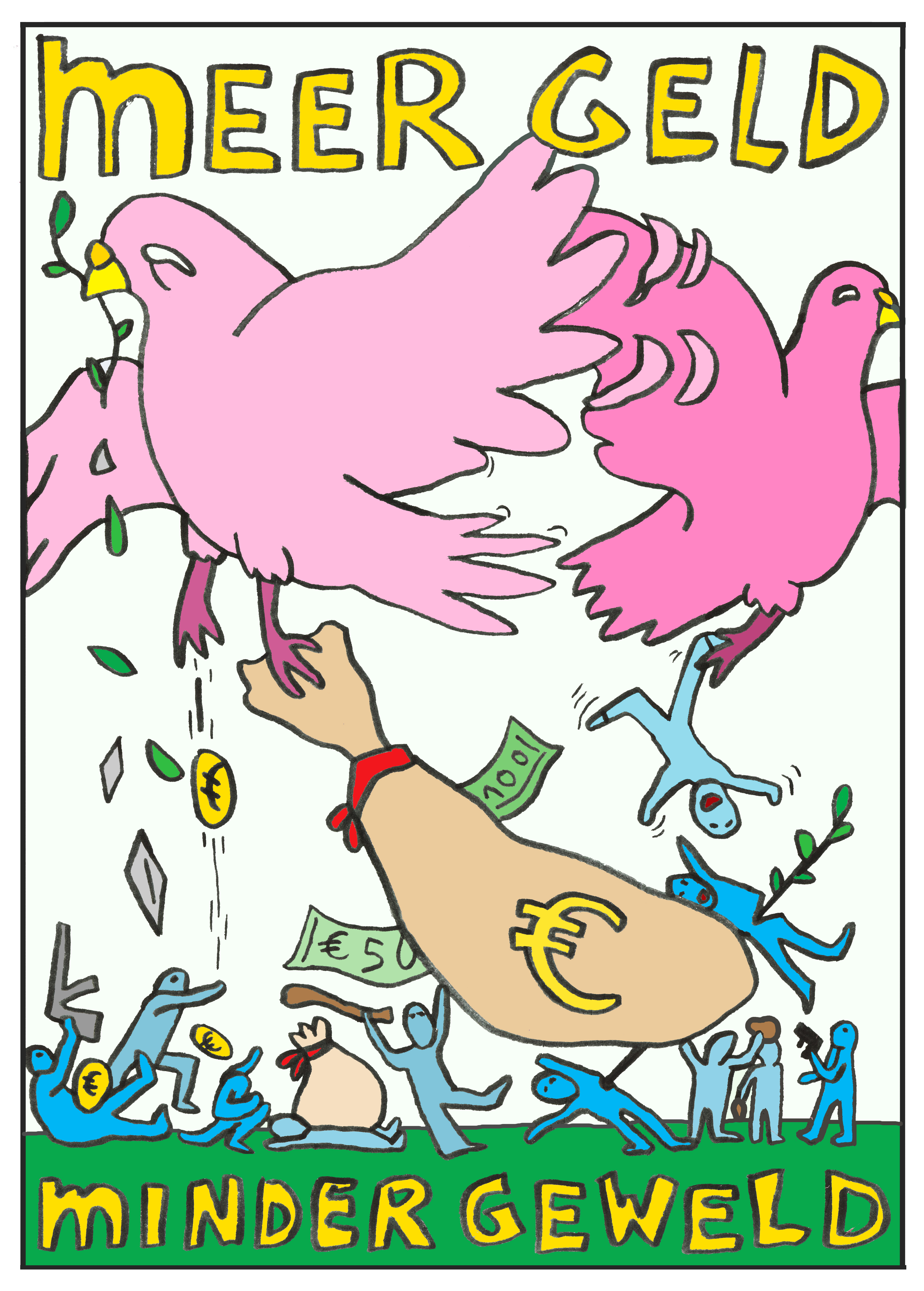 meer geld minder geweld